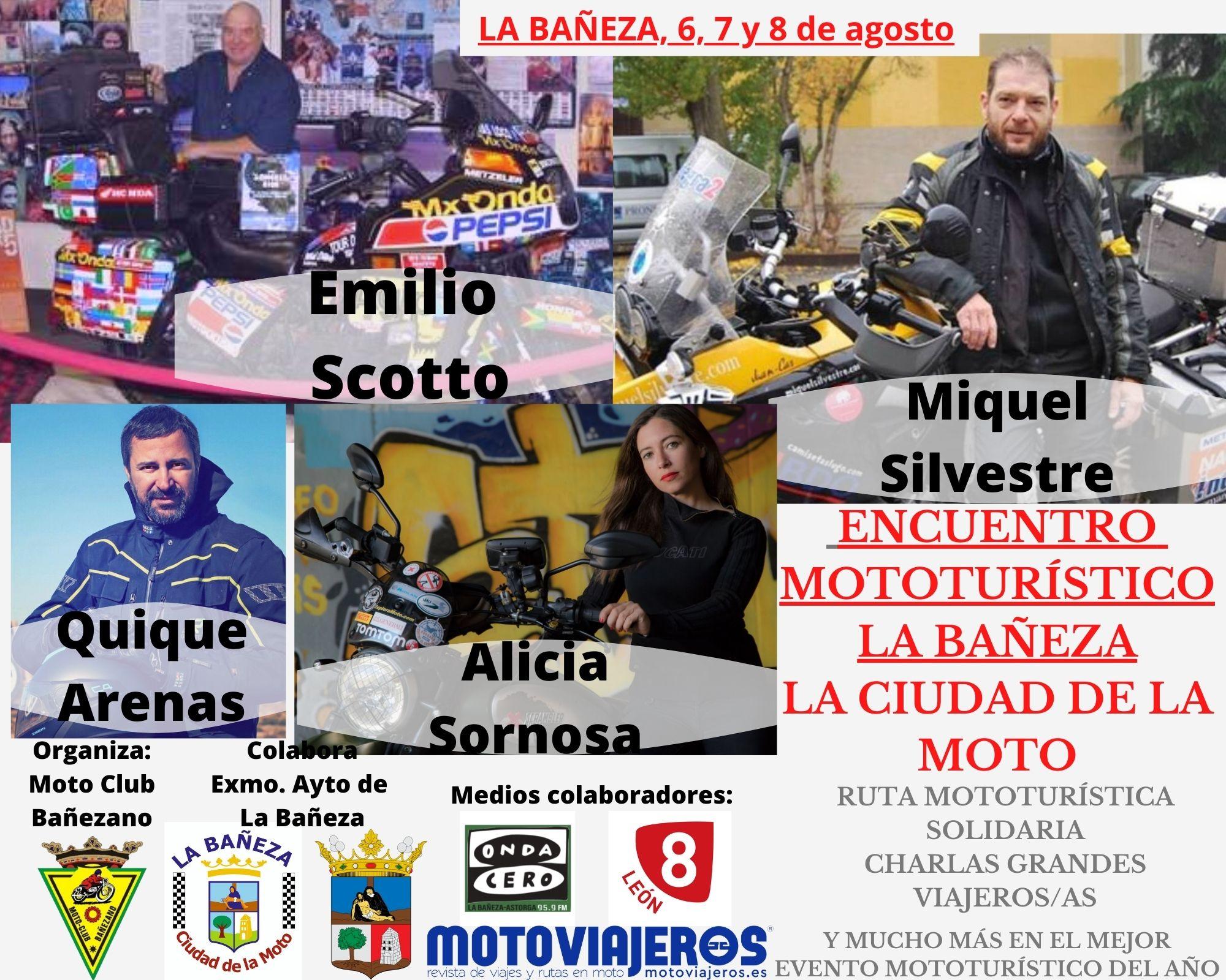 Encuentro Mototurístico La Bañeza, La Ciudad de la Moto